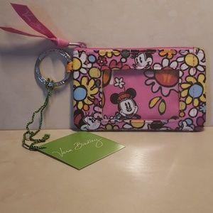 Vera Bradley Accessories - Vera Bradley Disney Just Mousin Around Zip ID coin